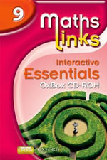 Mathslinks : 3: Y9 Interactive Essentials OxBox Cd-rom: 9 - Ray Allan