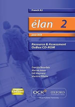 Elan 2 : Pour OCR A2 Resource & Assessment Oxbox CD-ROM - Daniele Bourdais