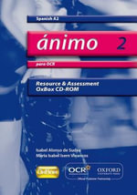 Animo 2 : Para OCR A2 Resource & Assessment Oxbox CD-ROM - Isabel Alonso De Sudea