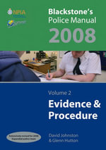 Evidence and Procedure 2008 : v. 2 - Glenn Hutton