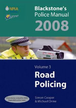 Road Policing 2008 : v. 3 - Simon Cooper