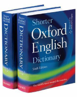 Shorter Oxford English Dictionary - Oxford University Press