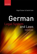 German Legal System and Laws - Nigel Foster
