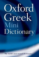 Oxford Greek Mini Dictionary - Oxford Dictionaries