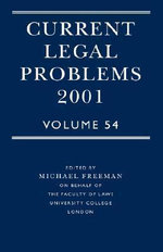 Current Legal Problems : 2001 v.54