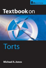Textbook on Torts - Michael A. Jones