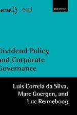Dividend Policy and Corporate Governance - Luis Correia da Silva