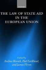 The Law of State Aid in the European Union