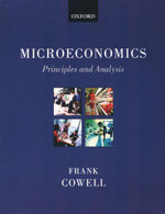Microeconomics : Principles and Analysis - Frank Cowell