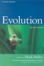 Evolution : Oxford Readers Ser. - Mark Ridley