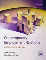 Contemporary Employment Relations : A Critical Introduction - Steve Williams