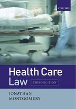 Health Care Law - Jonathan Montgomery