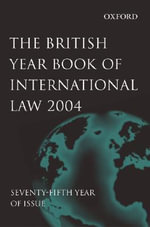British Year Book of International Law 2004 : Volume 75