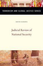 Judicial Review of National Security - David Scharia