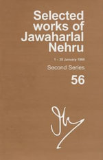 Selected Works of Jawaharlal Nehru (1-25 January 1960) : Second Series Volume 56 - MadhaVan K. Palat