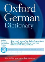 Oxford German Dictionary - Oxford Dictionaries