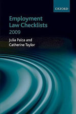 Employment Law Checklists - Julia Palca