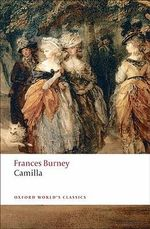Camilla : Picture of Youth - Fanny Burney