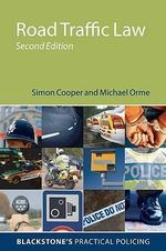 Road Traffic Law : v. 3 - Simon Cooper