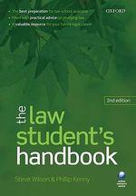 The Law Student's Handbook - Steve Wilson