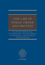 Law of Public Order and Protest - HHJ. Peter Thornton