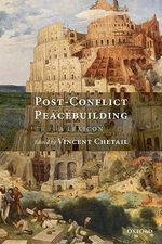 Post-conflict Peacebuilding : A Lexicon