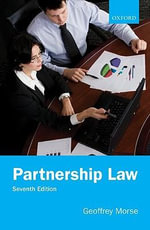 Partnership Law - Geoffrey Morse