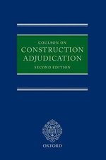 Coulson on Construction Adjudication - Peter Coulson