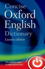 Concise Oxford English Dictionary - Oxford Dictionaries