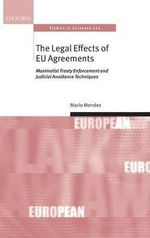 Legal Effects of EU Agreements : Learning from London 2012 - Mario Mendez