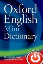 Oxford English Mini Dictionary - Oxford Dictionaries