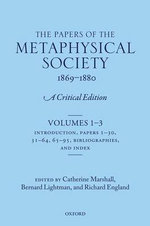 The Papers of the Metaphysical Society, 1869-1880