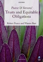 Pearce & Stevens' Trusts and Equitable Obligations - Robert Pearce