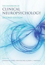 The Handbook of Clinical Neuropsychology - John Marshall
