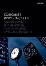 Corporate Insolvency Law - Sandra Frisby