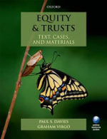 Equity & Trusts : Text, Cases, and Materials - Paul S. Davies