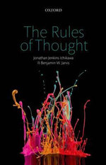 The Rules of Thought - Jonathan Jenkins Ichikawa