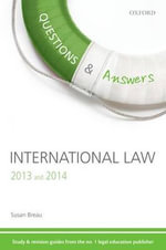 Q & A Revision Guide International Law 2013 and 2014 - Susan Breau