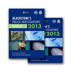 Blackstone's Police Investigators' Manual and Workbook 2013 - Paul Connor