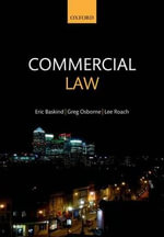 Commercial Law : Complex Negotiation Strategies for Law and Busines... - Eric Baskind