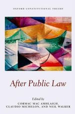 After Public Law : European International History 1933-1939