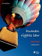 Human Rights Law Directions : Cases and Decisions - Howard Davis