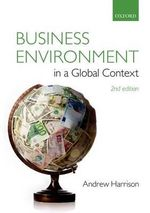 Business Environment in a Global Context - Andrew Harrison