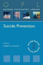 Suicide Prevention - Robert D. Goldney