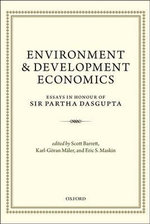 Environment and Development Economics : Essays in Honour of Sir Partha Dasgupta