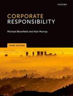 Corporate Responsibility - Michael Blowfield