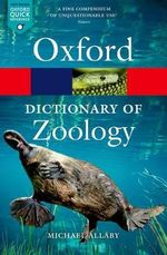 A Dictionary of Zoology - Michael Allaby