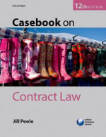 Casebook on Contract Law - Jill Poole