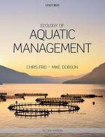 Ecology of Aquatic Management - Christopher L. J. Frid