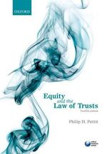 Equity and the Law of Trusts - Philip H. Pettit